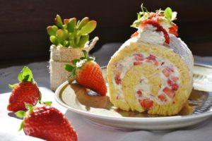 ケーキ、カロリー
