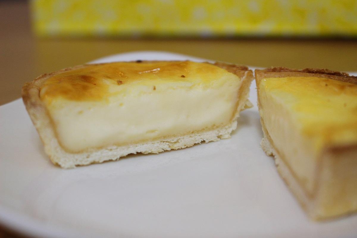 ブールミッシュ チーズタルト 断面